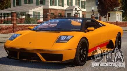 Pegassi Infernus S Roadster для GTA 4