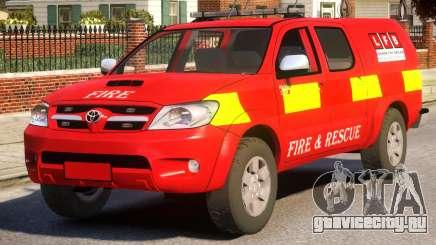 Toyota Hilux Police для GTA 4