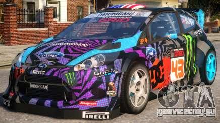 Ford Fiesta Gymkhana для GTA 4