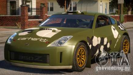 Nissan 350Z DiRT2 P4 для GTA 4