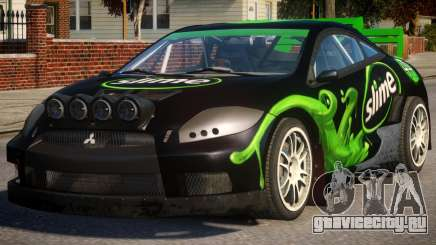 Mitsubishi Eclipse Rallycross PJ2 для GTA 4