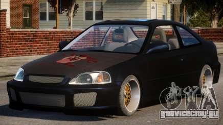 Honda Civic EA Tuned для GTA 4