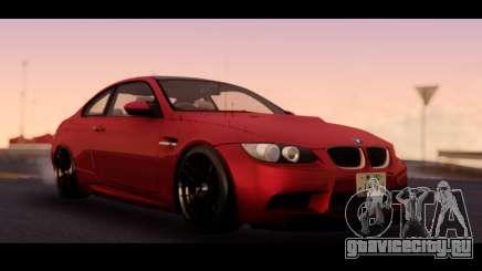 BMW 3-er M3 E92 для GTA San Andreas
