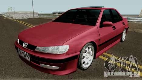 Peugeot 406 Stock MQ для GTA San Andreas