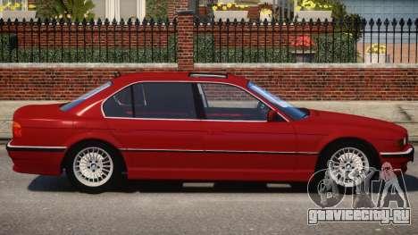 1998 BMW 750 E38 V1.2 для GTA 4