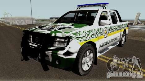 Nissan Frontier Police для GTA San Andreas