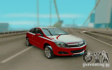 Opel Astra Red для GTA San Andreas
