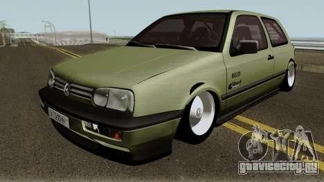 Volkswagen Golf MK3 Unmarked Army для GTA San Andreas