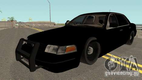 Ford Crown Victoria Police Interceptor HQ для GTA San Andreas