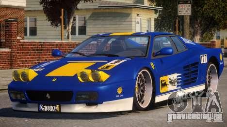 ViP Ferrari 512 TR PJ1 для GTA 4