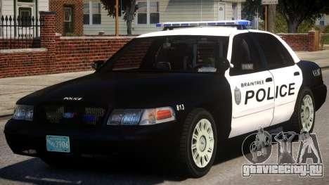 Braintree K9 Police для GTA 4