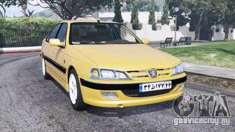 Peugeot Pars ELX 1999 [replace] для GTA 5