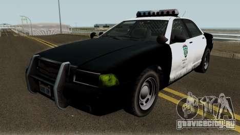Police Stanier R.P.D. GTA V для GTA San Andreas