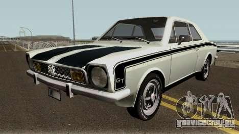 Ford Corcel GT 1975 HQ для GTA San Andreas