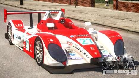 Porsche RS Spyder PJ3 для GTA 4 вид изнутри