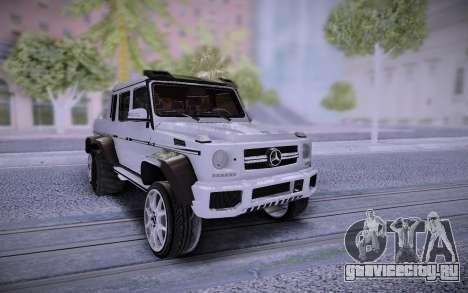 Mercedes-Benz G65 6X6 для GTA San Andreas