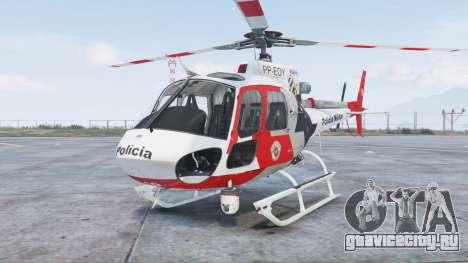 Helibras AS350 B2 Policia Militar [add-on] для GTA 5