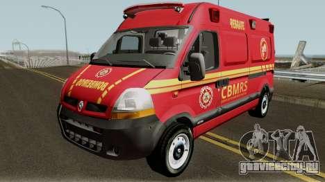 Renault Master Brazilian Ambulance  для GTA San Andreas