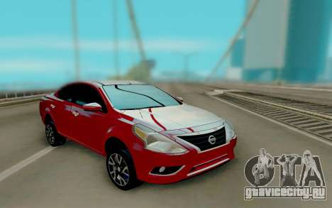 Nissan Versa Sedan 2015 для GTA San Andreas