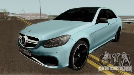 Mercedes-Benz E63 HQ для GTA San Andreas