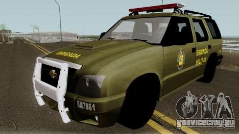 Chevrolet Blazer Police для GTA San Andreas