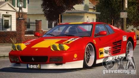 ViP Ferrari 512 TR PJ4 для GTA 4