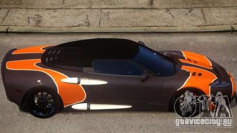 Spyker C8 Aileron Spyder PJ2 для GTA 4