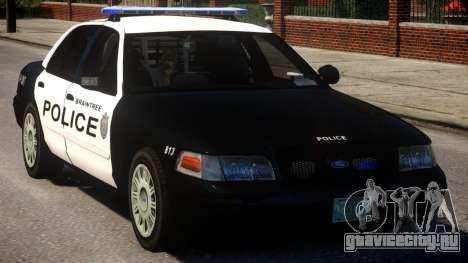 Braintree K9 Police для GTA 4 вид изнутри