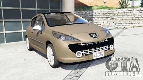 Peugeot 207 RC 2007 v0.4 [add-on] для GTA 5