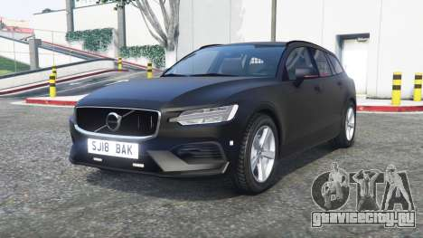 Volvo V60 2018 Unmarked Police [ELS] [replace] для GTA 5