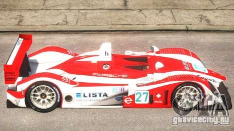 Porsche RS Spyder PJ3 для GTA 4 вид сзади