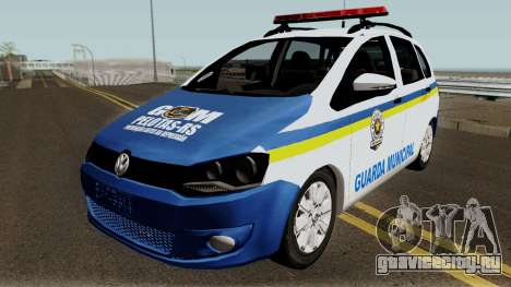 Volkswagen Spacefox Guarda Municipal для GTA San Andreas