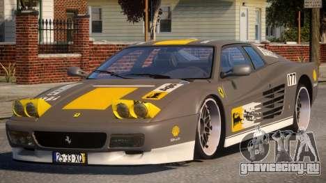 ViP Ferrari 512 TR PJ2 для GTA 4
