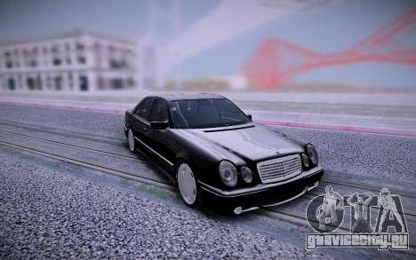 Mercedes-Benz E 55 AMG для GTA San Andreas