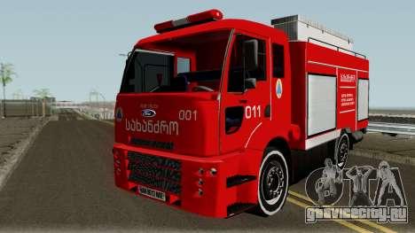Ford Cargo Geo Firetruck для GTA San Andreas