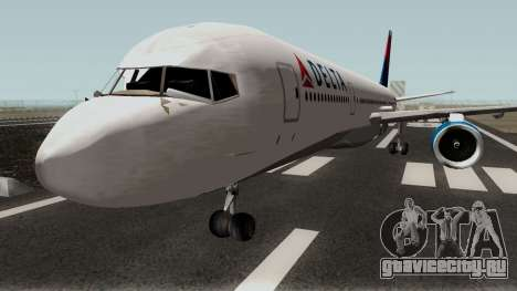 Boeing 757-200 Delta Airlines для GTA San Andreas