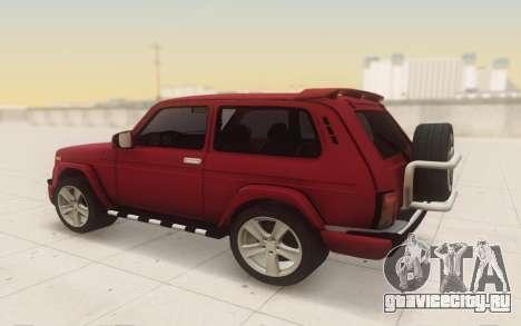 Niva 2121 Urban для GTA San Andreas вид справа