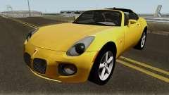 Pontiac Solstice GXP Coupe 2.0l 2009 для GTA San Andreas