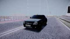 Lada Priora Black Edition для GTA San Andreas