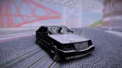 Mercedes-Benz S600 W140 Classic Black Edition для GTA San Andreas