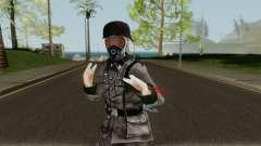 SS Nazi Skin with Gasmask для GTA San Andreas