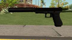 GLOCK-17 Black для GTA San Andreas