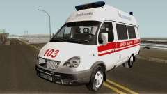 ГАЗ-3221 Скорая Медицинская Помощь для GTA San Andreas