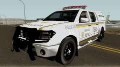 Nissan Frontier Brazilian Police для GTA San Andreas