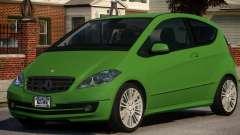 Mercedes Benz A 200 Turbo V1.3 для GTA 4