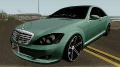 Mercedes-Benz S500 Vossen для GTA San Andreas