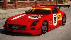 Mercedes-Benz SLS AMG PJ2 для GTA 4