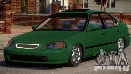 Honda Civic Tuning для GTA 4