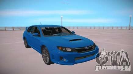 Subaru Impreza WRX STi 2011 Blue для GTA San Andreas