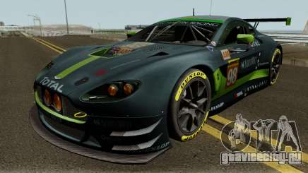 Aston Martin Vantage GTE 2017 для GTA San Andreas